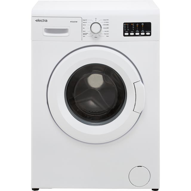 Electra W1244CF2W 6Kg Washing Machine with 1200 rpm - White - A++ Rated - W1244CF2W_WH - 1