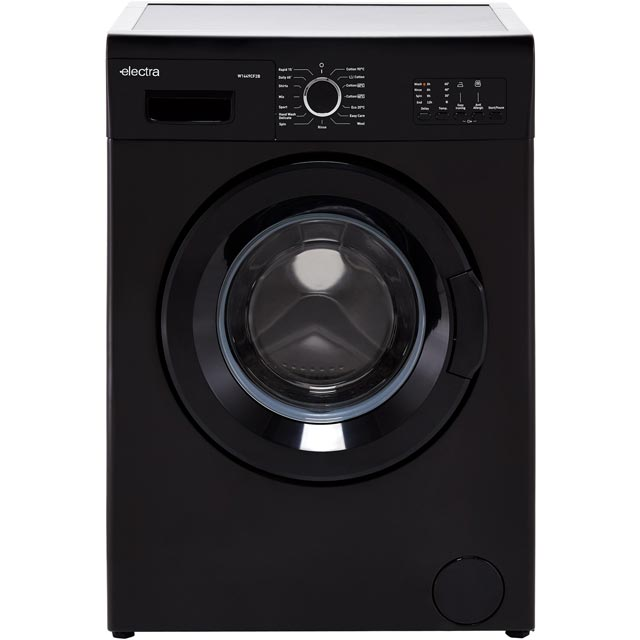 Electra W1449CF2B 7Kg Washing Machine with 1400 rpm - Black - A++ Rated