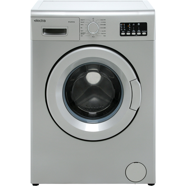 Electra W1449CF2S 7Kg Washing Machine with 1400 rpm - Silver - A++ Rated - W1449CF2S_SI - 1