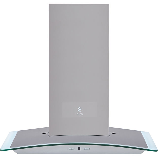 Elica REEF-60 60 cm Chimney Cooker Hood - Stainless Steel - B Rated - REEF-60_SS - 1