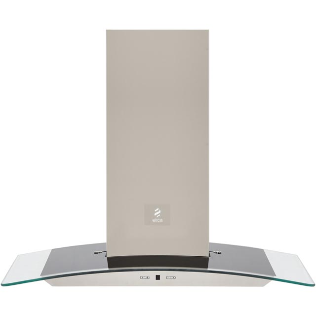 Elica REEF-70 70 cm Chimney Cooker Hood - Stainless Steel - B Rated - REEF-70_SS - 1