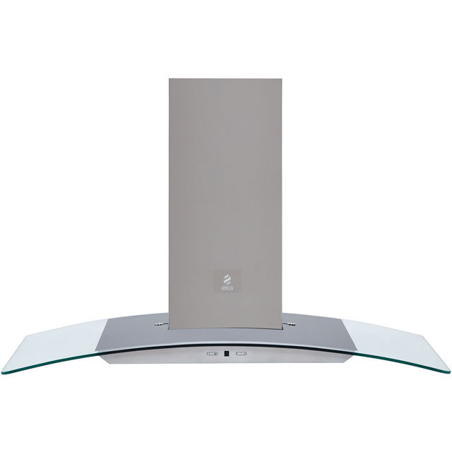 Elica REEF-90 90 cm Chimney Cooker Hood - Stainless Steel - B Rated - REEF-90_SS - 1