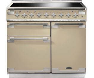 Rangemaster Elise 100cm Electric Range Cooker with Induction Hob - Cream - A Rated