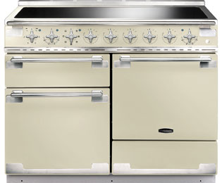 Rangemaster Elise ELS110EICR 110cm Electric Range Cooker with Induction Hob - Cream - A/A Rated - ELS110EICR_CR - 1