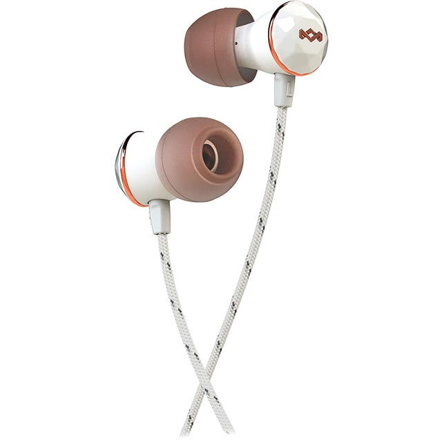 House of Marley Nesta In-ear Water Resistant Headphones - Rose Gold - EM-FE033-RS - 1