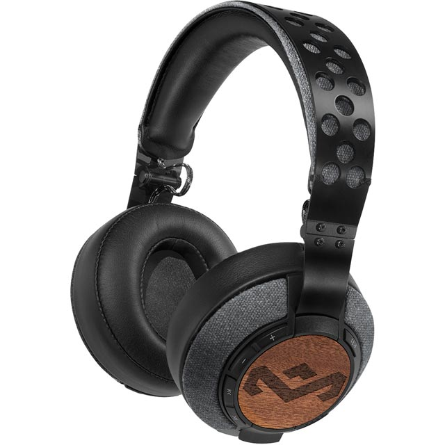 House of Marley EM-FH041-MI Headphones in Black