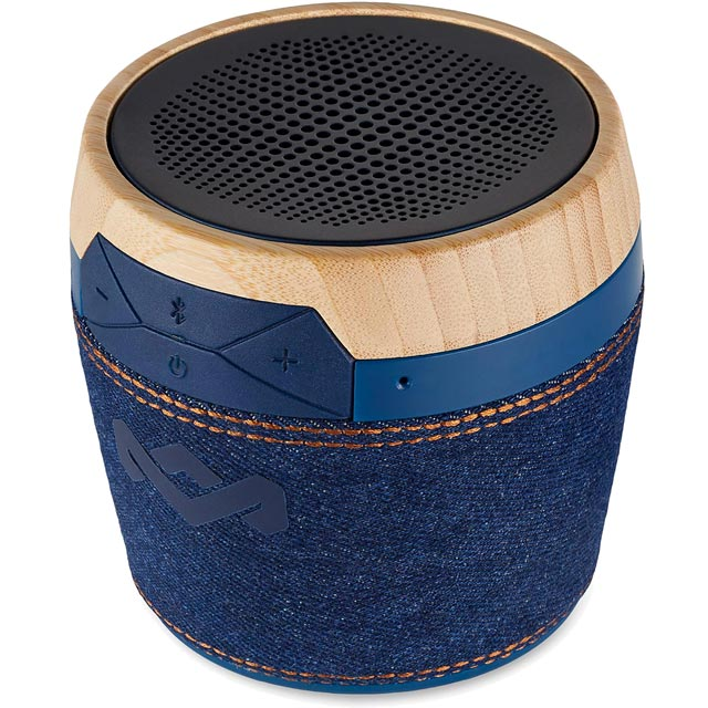 House of Marley Chant Mini Portable Wireless Speaker - Denim Blue