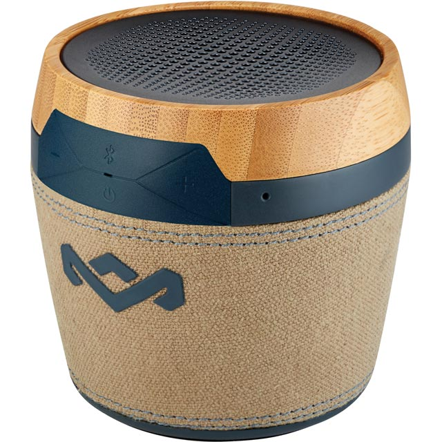 House of Marley Chant Mini Portable Bluetooth Wireless Speaker - Navy