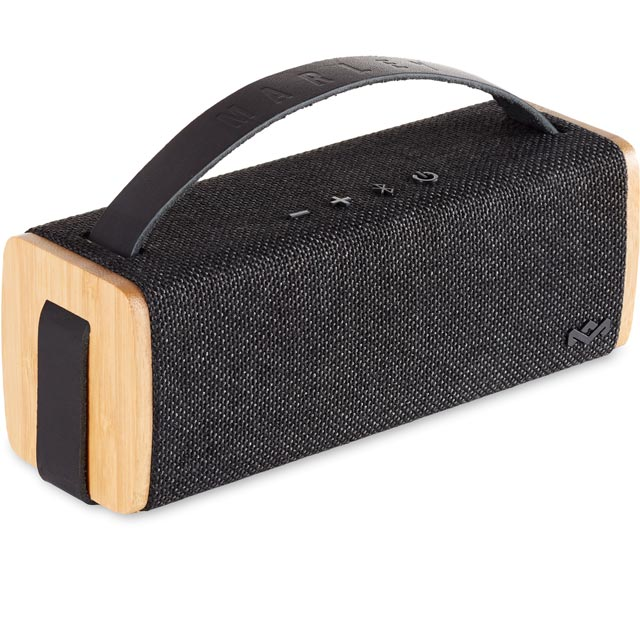 House of Marley Riddim BT Portable Bluetooth Wireless Speaker - Black