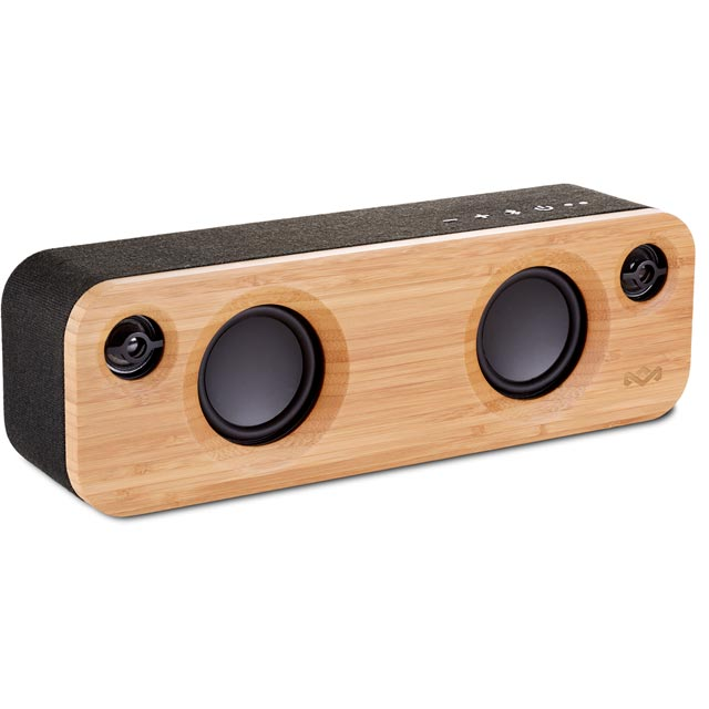 House of Marley Get Together Mini Portable Wireless Speaker - Black