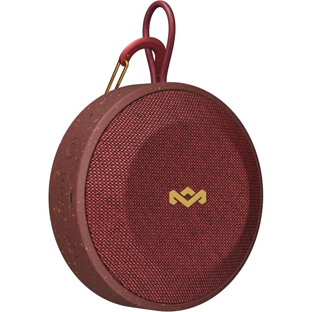 House of Marley No Bounds Portable Wireless Speaker - Red - EM-JA015-RD - 1