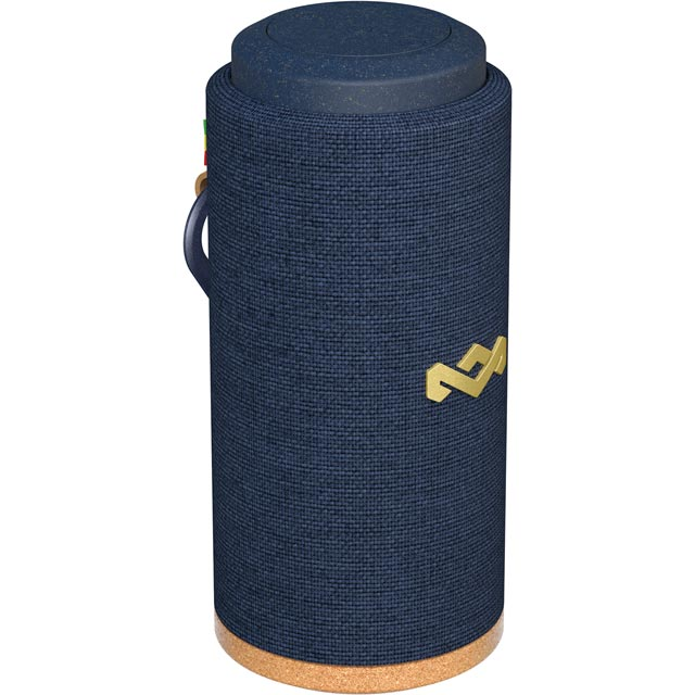 House of Marley No Bounds Sport Portable Bluetooth Wireless Speaker - Blue
