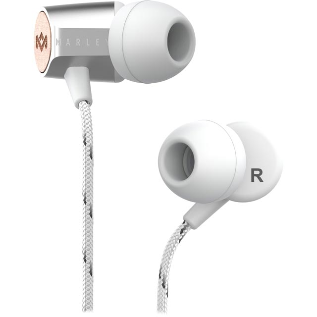 House of Marley Uplift 2.0 In-ear Headphones - Silver - EM-JE091-SV - 1