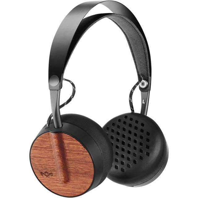 House of Marley Buffalo Soldier On-Ear Wireless Headphones - Black