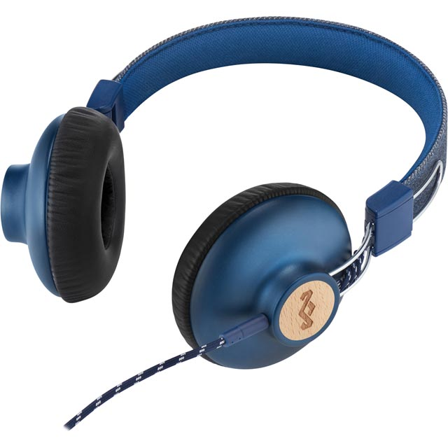 House of Marley EM-JH121-SV On-ear Headphones - Silver - EM-JH121-SV - 4