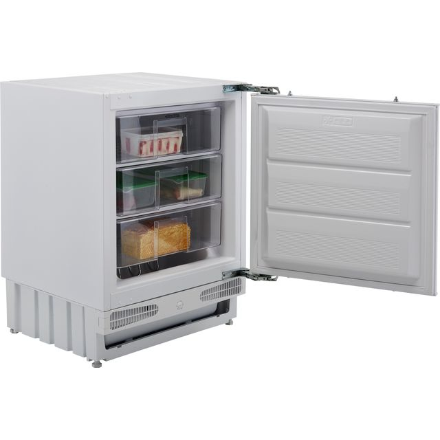 Electra EFUZ93IE Integrated Under Counter Freezer with Sliding Door Fixing Kit - F Rated