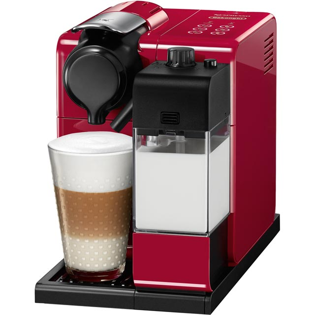 Nespresso by De'Longhi EN550.R Lattissima Touch Coffee Machine - Red