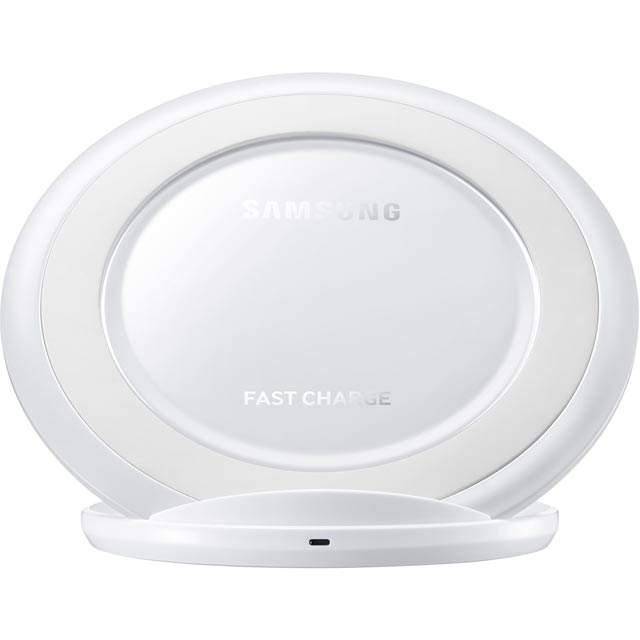 Samsung Qi Quick Charging Pad for Samsung Galaxy S8, S8+, S7 Edge, S7 & S6 for Samsung Galaxy S8, S8 Plus, S7 Edge, S7 and S6 - White - EP-NG930BWEGWW - 1