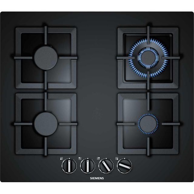 Siemens IQ-500 EP6A6HB20 Built In Gas Hob - Black - EP6A6HB20_BK - 1
