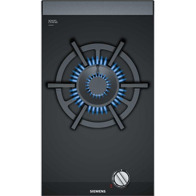 Siemens IQ-700 ER3A6AD70 Built In Gas Hob - Black - ER3A6AD70_BK - 1