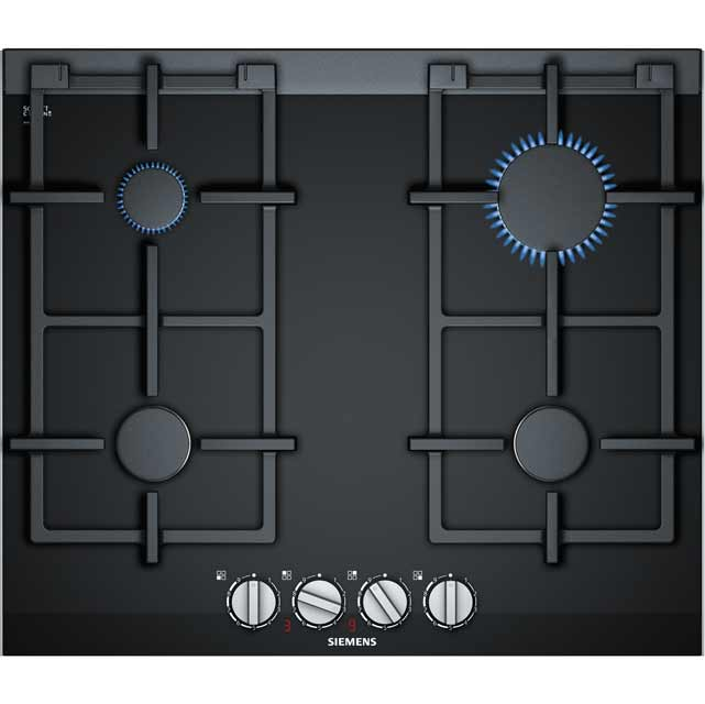 Siemens IQ-700 ER6A6PD70 Built In Gas Hob - Black - ER6A6PD70_BK - 1
