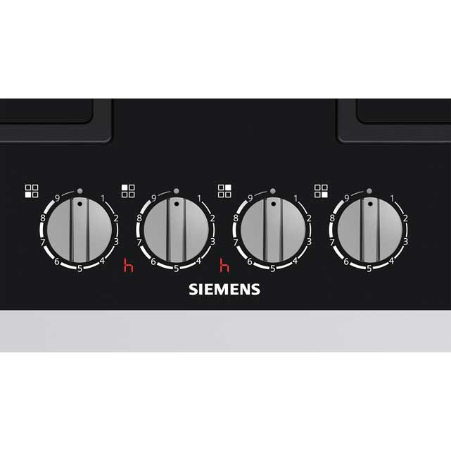 Siemens IQ-700 ER6A6PD70 Built In Gas Hob - Black - ER6A6PD70_BK - 3