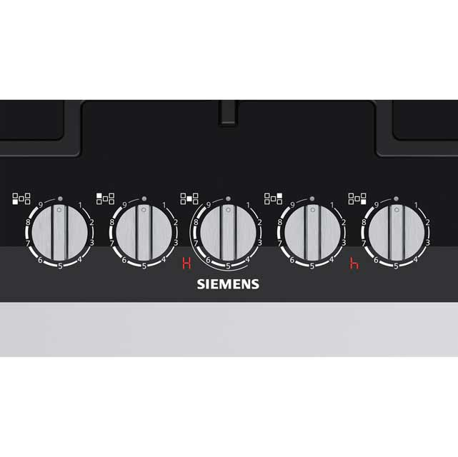 Siemens IQ-700 ER7A6RD70 Built In Gas Hob - Black - ER7A6RD70_BK - 2