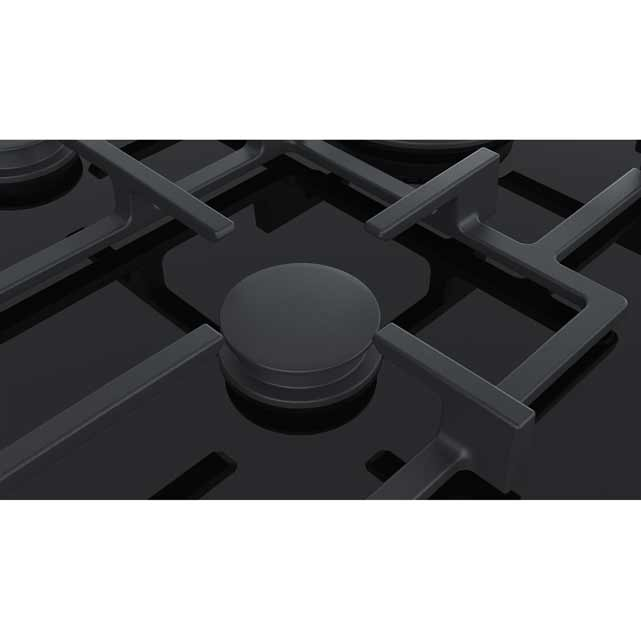 Siemens IQ-700 ER7A6RD70 Built In Gas Hob - Black - ER7A6RD70_BK - 3