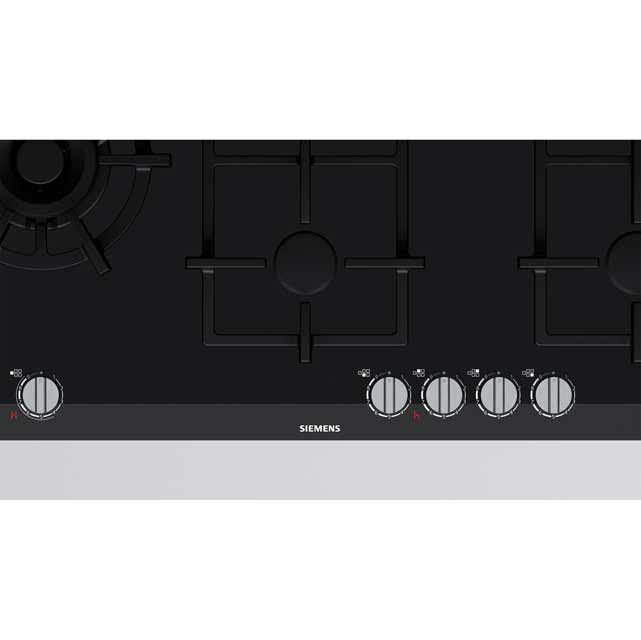 Siemens IQ-700 ER9A6SD70 Built In Gas Hob - Black - ER9A6SD70_BK - 2