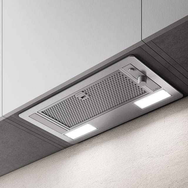 Elica ERA-HE-SS-60 53 cm Canopy Cooker Hood - Stainless Steel - B Rated - ERA-HE-SS-60_SS - 1