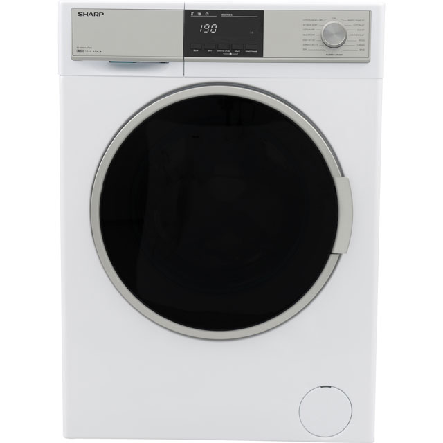 Sharp ES-HDB8647W0 8Kg / 6Kg Washer Dryer with 1400 rpm - A Rated