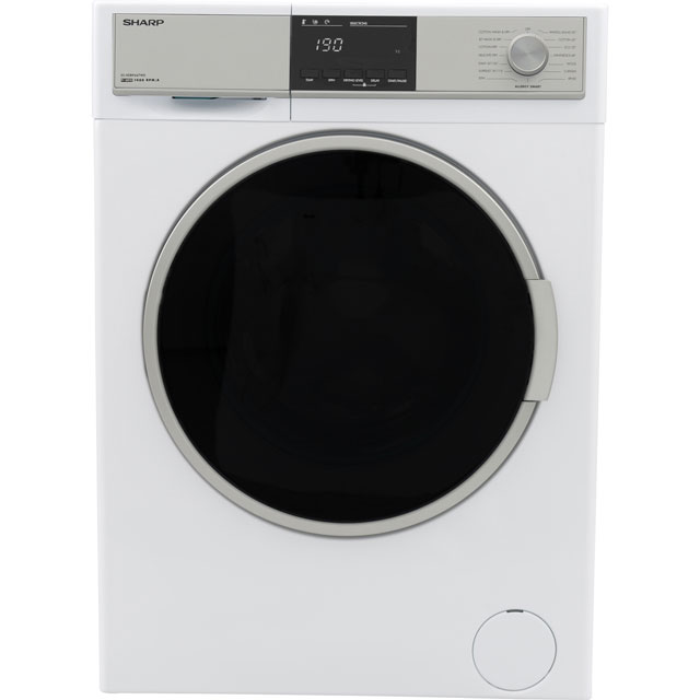 Sharp ES-HDB9647W0 9Kg / AKg Washer Dryer with 1400 rpm - A Rated