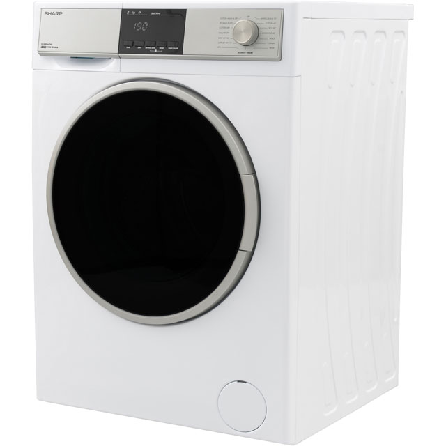 Sharp ES-HDB9647W0 9Kg / 6Kg Washer Dryer - White - ES-HDB9647W0_WH - 3