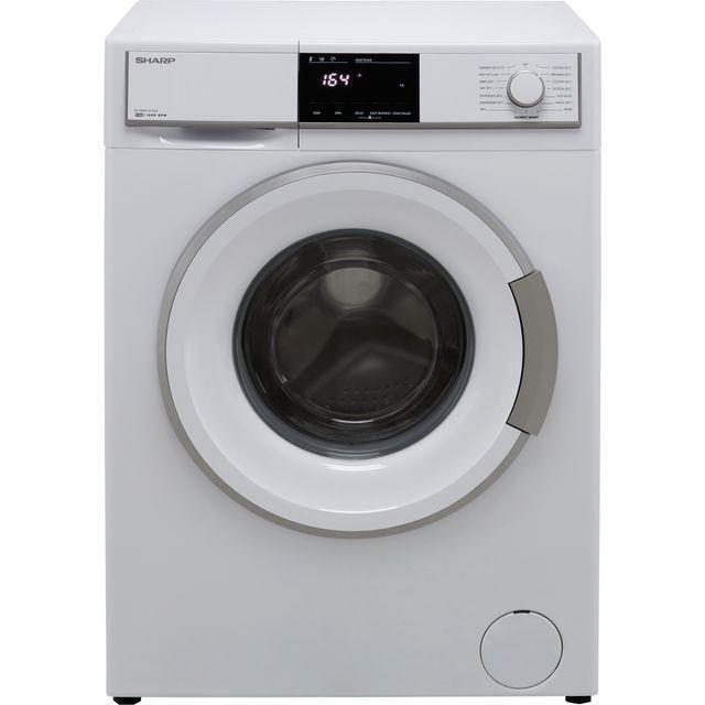 Sharp ES-HFB9143WD-EN 9Kg Washing Machine with 1400 rpm - White - D Rated