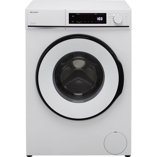 Sharp ES-NFB9141WD-EN 9Kg Washing Machine with 1400 rpm - White - D Rated