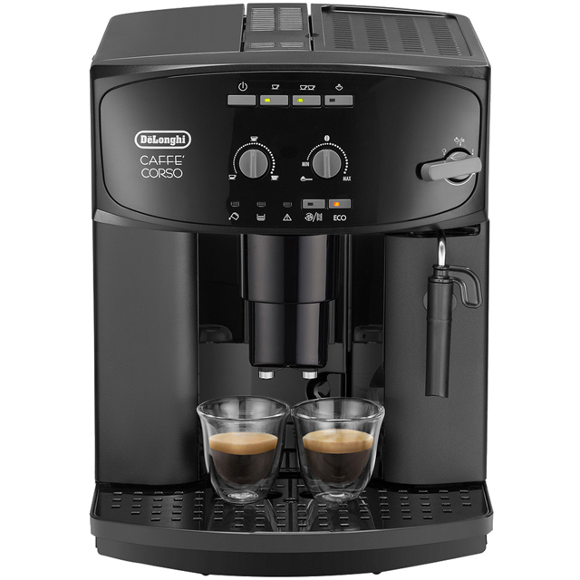 De'Longhi Caffe Corso ESAM2600 Bean to Cup Coffee Machine - Black - ESAM2600_BK - 1