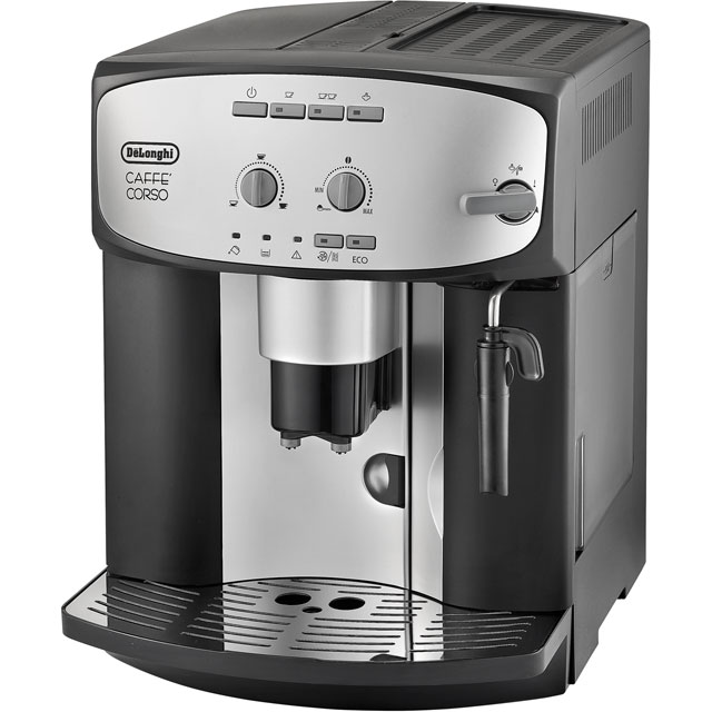 De'Longhi ESAM2800 Bean to Cup Coffee Machine - Silver / Black