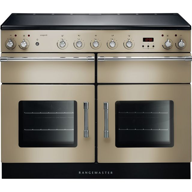 Rangemaster Esprit ESP110EICR/C 110cm Electric Range Cooker with Induction Hob - Cream - A/A Rated - ESP110EICR/C_CR - 1