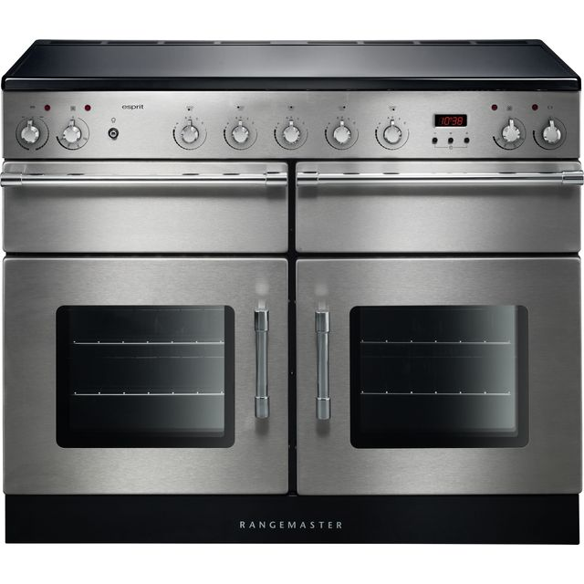 Rangemaster Esprit ESP110EISS/C 110cm Electric Range Cooker with Induction Hob - Stainless Steel - A/A Rated - ESP110EISS/C_SS - 1