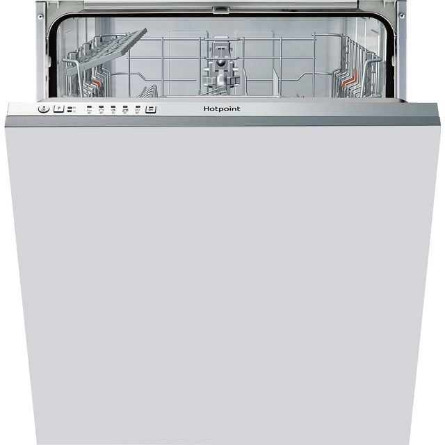 Hotpoint HIE2B19UK Fully Integrated Standard Dishwasher - Stainless Steel Control Panel - F Rated