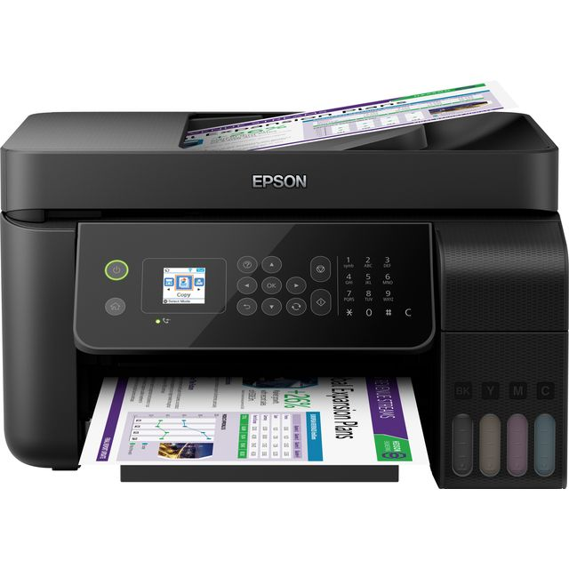 Epson EcoTank ET-4700 Inkjet Printer - Black - ET-4700 - 1