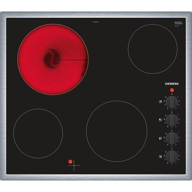 Siemens IQ-100 ET645CEA1E 58cm Ceramic Hob - Black