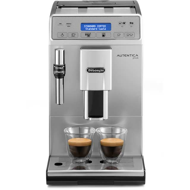 De'Longhi Autentica ETAM29.620.SB Bean to Cup Coffee Machine - Silver