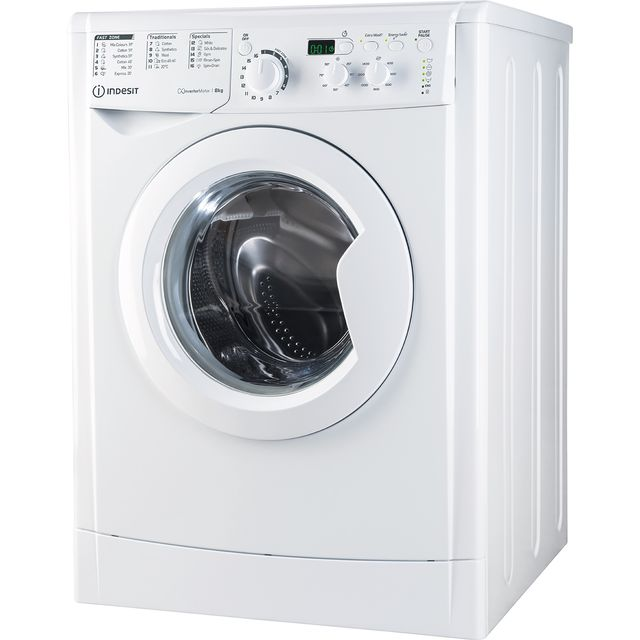 Indesit My Time EWD81483WUKN 8Kg Washing Machine - White - EWD81483WUKN_WH - 1