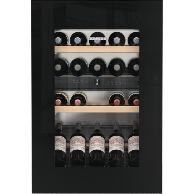 Liebherr EWTgb1683 Built In Wine Cooler - Black / Glass - EWTgb1683_BKG - 1