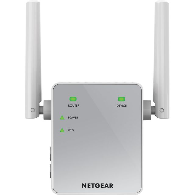 Netgear EX3700-100UKS Routers & Networking in White