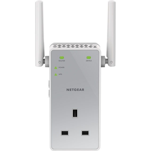 Netgear EX3800-100UKS Routers & Networking in White