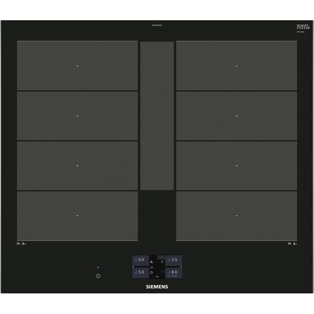 Siemens IQ-700 EX675JYW1E Built In Induction Hob - Black - EX675JYW1E_BK - 1