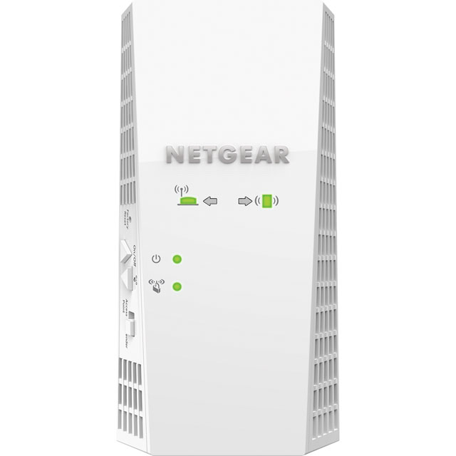 Netgear EX7300 EX7300-100UKS Routers & Networking in White