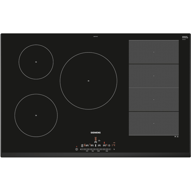 Siemens IQ-700 EX851FVC1E Built In Induction Hob - Black - EX851FVC1E_BK - 1